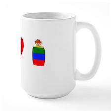 Peace Love Rodeo Clown Mug
