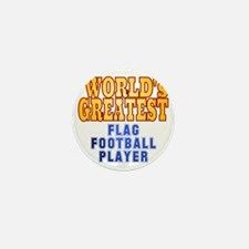 World's Greatest Flag Football Player Mini Button