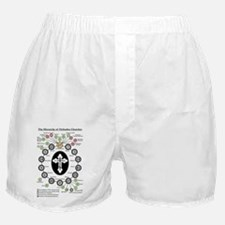 The Hierarchy of Orthodox Churches Boxer Shorts