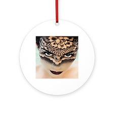 Veil iPad Round Ornament