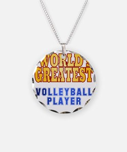 World's Greatest Volleyball  Necklace