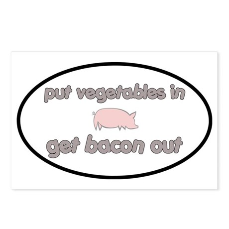 baconout3 Postcards (Package of 8)