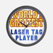 World's Greatest Laser Tag Player Wall Clock