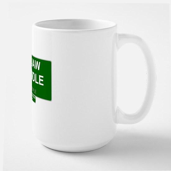 REAL PEOPLE - HOGJAW TWADDLE Large Mug