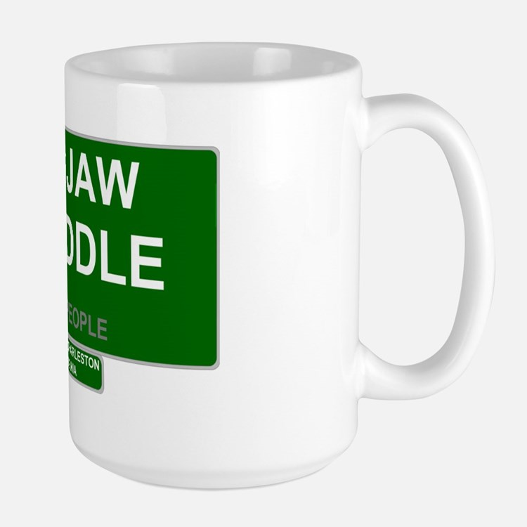 REAL PEOPLE - HOGJAW TWADDLE Large Mug
