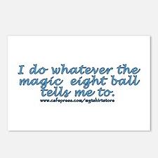 Magic 8 ball joke Postcards (Package of 8)