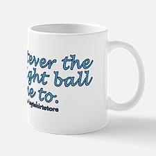 Magic 8 ball joke Small Mugs