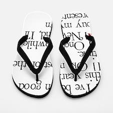 Dear Santa Flip Flops