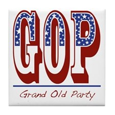 GOP Tile Coaster