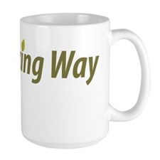 no_fracking_way_green Mug