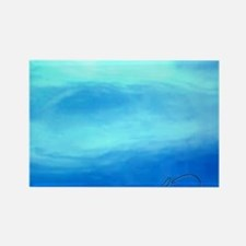 OCEAN BLUE ~ SIGNATURE * Rectangle Magnet