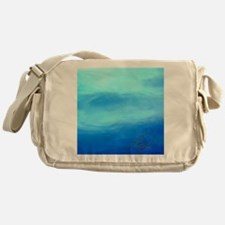 OCEAN BLUE ~ SIGNATURE * Messenger Bag