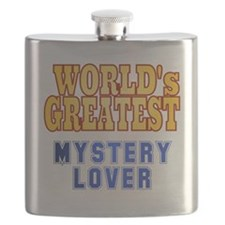 World's Greatest Mystery Lover Flask