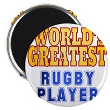 World's Greatest Rugby Player Magnet