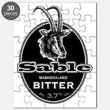 Sable Mashonoland Bitter Beer Puzzle