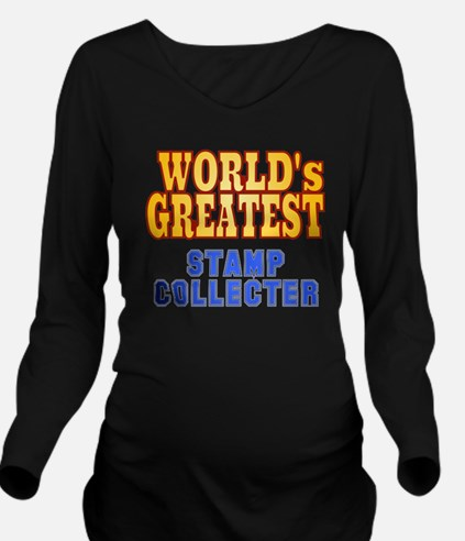 World's Greatest Sta Long Sleeve Maternity T-Shirt