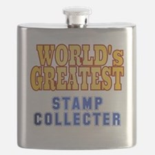 World's Greatest Stamp Collector Flask
