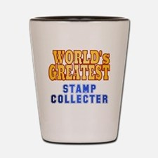 World's Greatest Stamp Collector Shot Glass