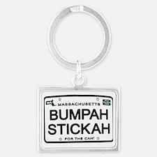 Bumpah Stickah Landscape Keychain