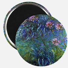 Claude Monet Jewelry Lilies Magnet