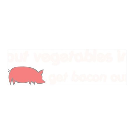 baconout1 20x6 Wall Decal