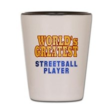 World's Greatest Streetball Player Shot Glass