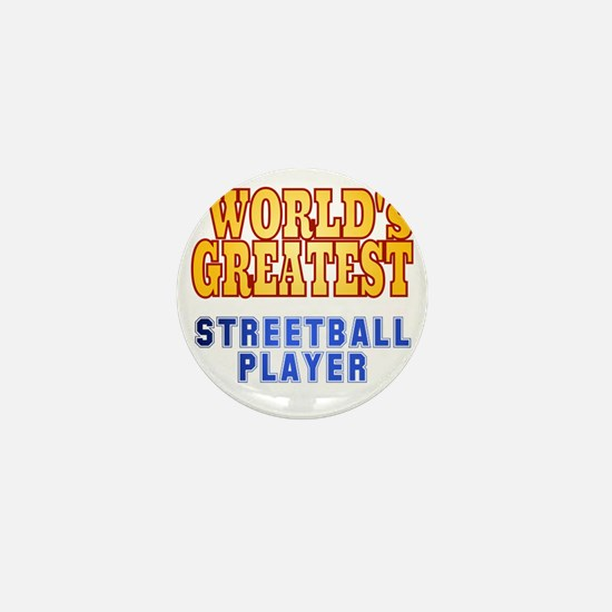 World's Greatest Streetball Player Mini Button
