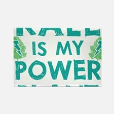 Kale is my power plant Rectangle Magnet
