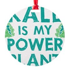 Kale is my power plant Ornament