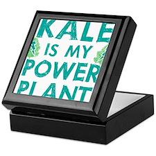Kale is my power plant Keepsake Box