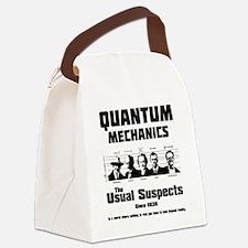 Quantum Mechanics-The Usual Suspe Canvas Lunch Bag