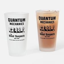 Quantum Mechanics-The Usual Suspect Drinking Glass