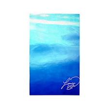 OCEAN BLUE ~ SIGNATURE * 3'x5' Area Rug