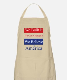 We Built It Apron