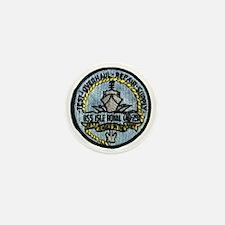 uss isle royale patch transparent Mini Button