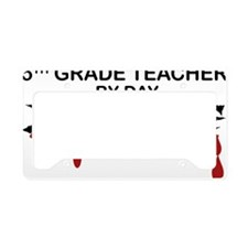 5th Grade Zombie License Plate Holder