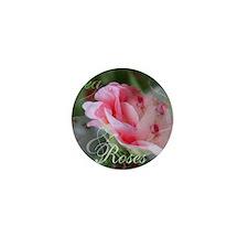 Tea  Roses Mini Button