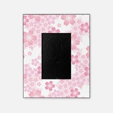 Pink Flowers Picture Frame