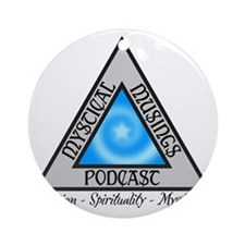 Mystical Musings Podcast Round Ornament