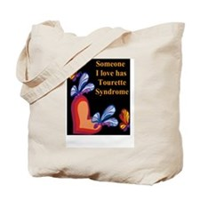 Cute Tourettes syndrome Tote Bag