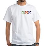 Eat Sleep Jindo White T-Shirt