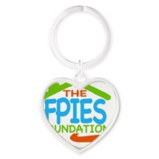 The FPIES Foundation Connection Heart Keychain