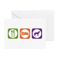 Eat Sleep Jindo Greeting Cards (Pk of 10)