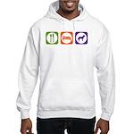 Eat Sleep Jindo Hooded Sweatshirt
