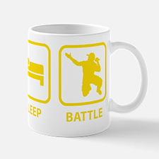 EatSleepBattle1D Mug