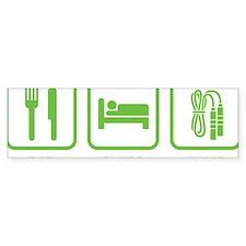 EatSleepJump1D Bumper Sticker