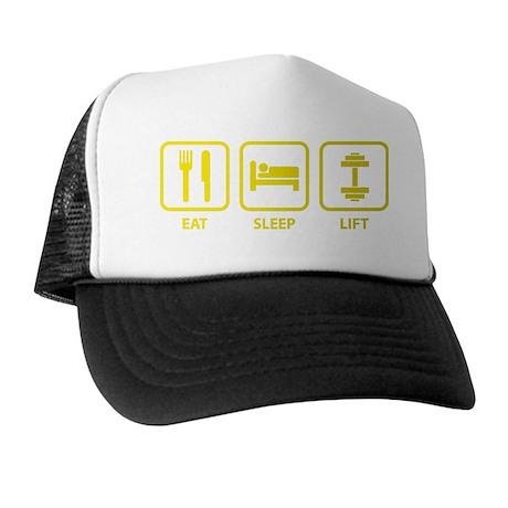 EatSleepLift1E Trucker Hat