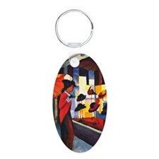 rect_mag19 Keychains