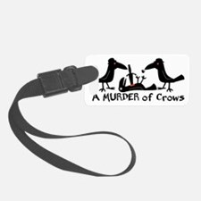 A Murder of Crows Luggage Tag