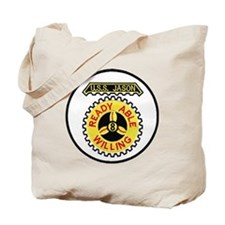 uss jason patch transparent Tote Bag